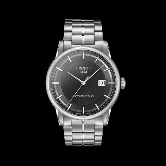 Đồng hồ nam Tissot Luxury Powermatic 80 Anthracite T086.407.11.061.00