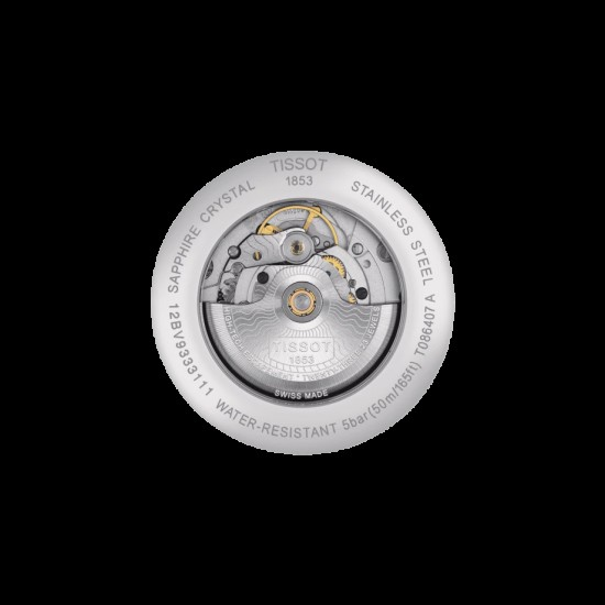 Đồng hồ nam Tissot Luxury Powermatic 80 T086.407.11.051.00