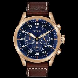 Đồng hồ Nam Citizen Avion Chronograph Eco-Drive Blue-CA4213-18L