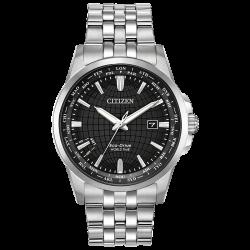 Đồng hồ Nam Citizen Brycen World Time Black Dial-BX1000-57E