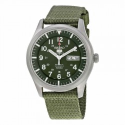 Đồng hồ nam Seiko 5 Sport Automatic Khaki Green-SNZG09