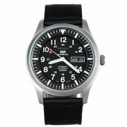 Đồng hồ nam Seiko 5 Sport Automatic Black Canvas-SNZG15