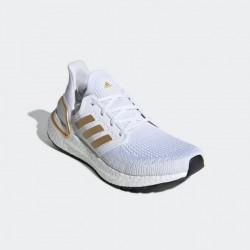 Giày adidas Ultra Boost 20 Nữ- Trắng Vàng
