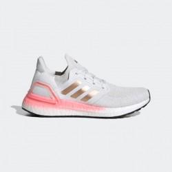 Giày adidas Ultra Boost 20 Nữ- Trắng Hồng