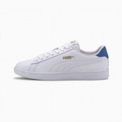 Giày Puma Smash V2 L Nam Trắng Xanh ( Blue)