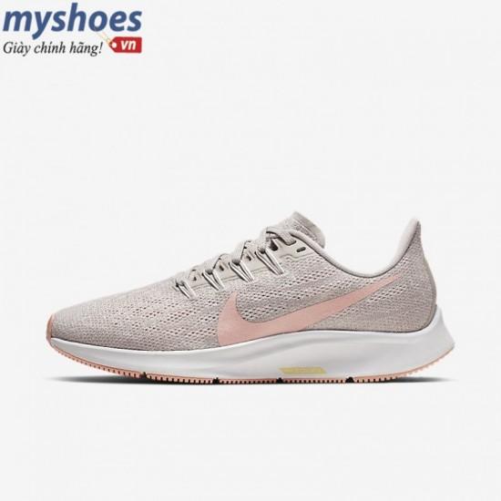 Giày Nike Air Zoom Pegasus 36 Nữ- Đen Hồng Đất