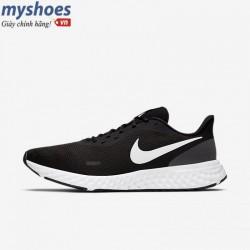 Giày Nike Revolution 5 Nam - Đen Trắng