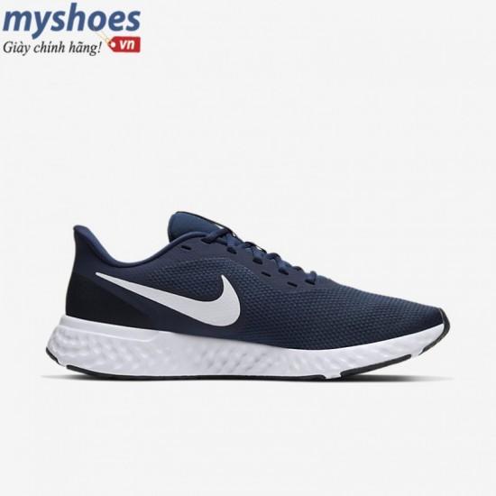Giày Nike Revolution 5 Nam - Xanh Navy