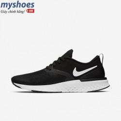 Giày Nike Odyssey React 2 Flyknit - Nữ Đen Trắng